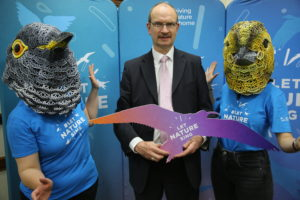 Supporting Let Nature Sign campaign by RSPB